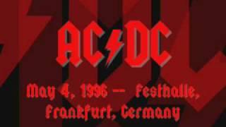 AC/DC - Beavis & Butthead Intro - Live [Frankfurt 1996]
