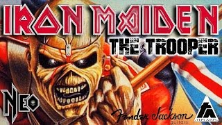 Iron Maiden - The Trooper guitar cover (Tep
