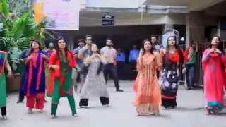 bpl chittagong vikings flash mob organized by ciu cultural club