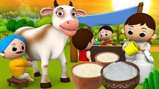 दही वाला की सफलता हिन्दी कहानी | Curd Seller's Success Story | Hindi Kahaniya | Kids Moral Stories