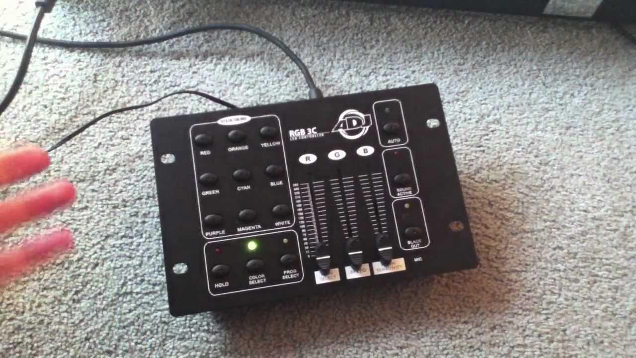 American DJ RGB 3C LED DMX Controller Review