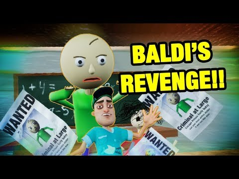 BALDI REVENGE! - Hello Baldi's Basics Mod thumbnail