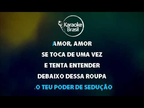 Amor amor  Wanessa Karaoke