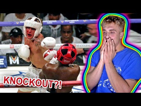 REACTING TO JAKE PAUL VS. DEJI!! (FULL FIGHT)
