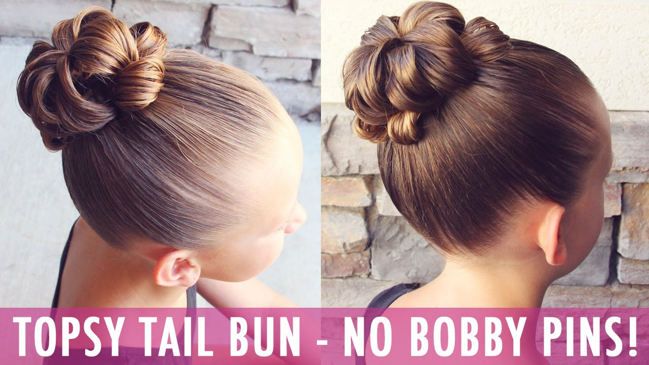 Topsy Tail Bun No Way A Bun With No Bobby Pins Yes Please