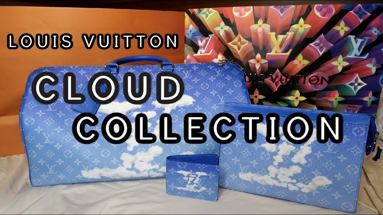 Download Louis Vuitton Cloud Collection! Keepall 50, slender wallet, and pochette voyage.