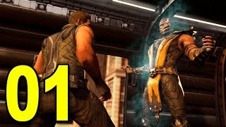 Mortal Kombat X - Chapter 1 - Johnny Cage (Playstation 4 Gameplay)