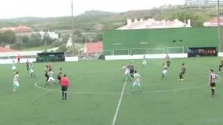 4ª jornada do Campeonato Pro-Nacional da Associação de Futebol de Lisboa jogo entre o Sporting Clube de Lourel e o Real Sport Clube cujo resultado foi de 2 a 2