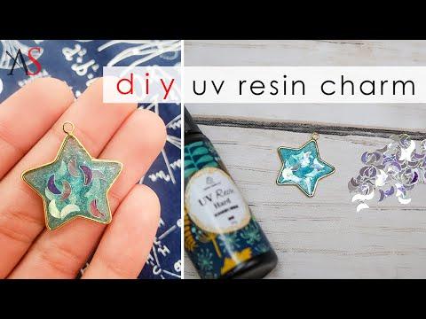 DIY • Easy UV Resin Charm