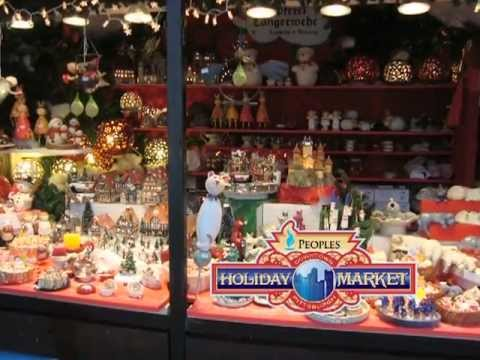 Downtown Pittsburgh's Peoples Gas Holiday Market Preview! - YouTube