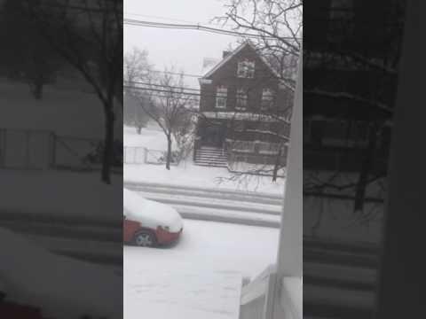 New Brunswick snow 2017