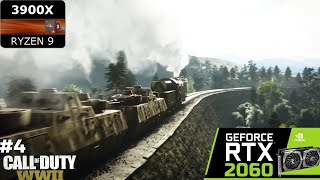 Call of Duty WWII | S.O.E. Walkthrough | AMD Ryzen 9 3900X + MSI GeForce RTX 2060 GAMING Z