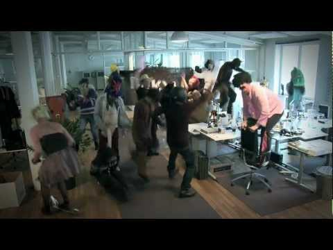 Harlem Shake @ Rekyl advertising agency (Borås, Sweden)