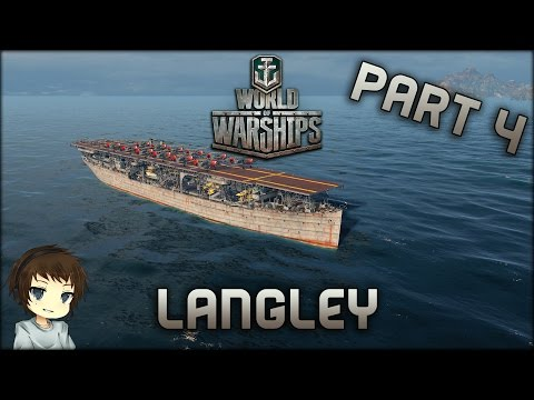 World of Warships - Part 4 - USA Langley »»» Let's Play World of Warships Deutsch