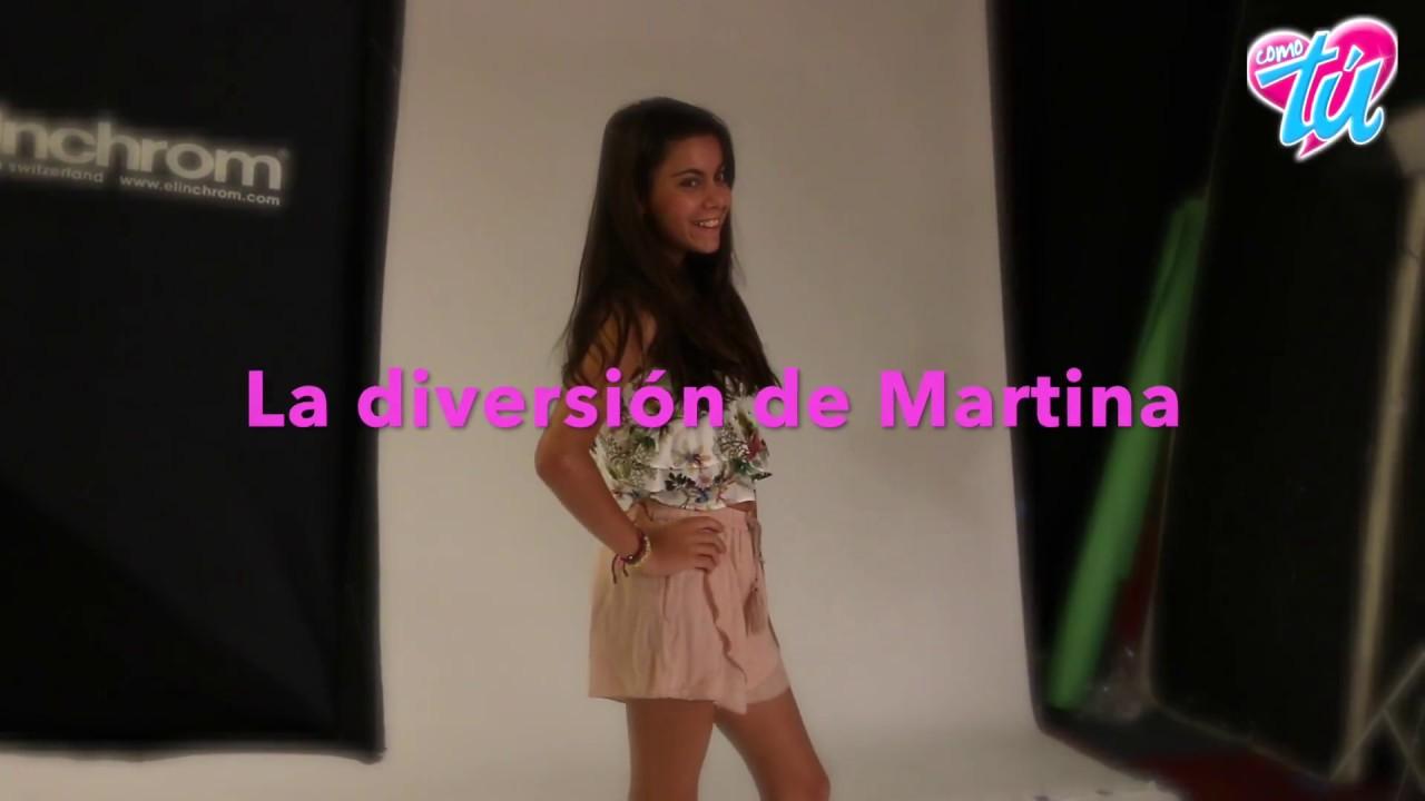 La Diversión De Martina En La Redacción Revista Como