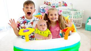 Diana dan Roma Menyiapkan Kamar Baru untuk Bayi Oliver