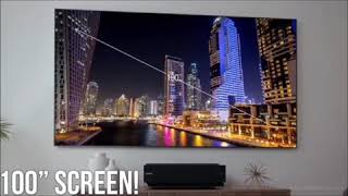 Hisense 100inch Laser TV Projector Screen