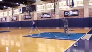 Dirk Nowitzki Unorthodox training with His Mentor