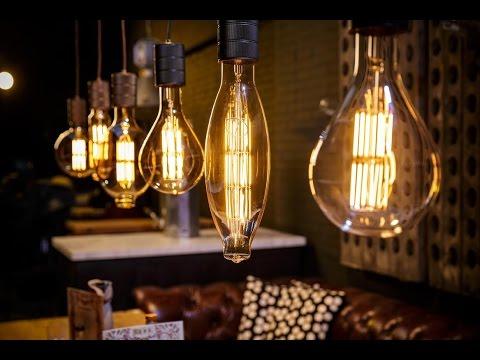 Настольная лампа с черным абажуром - A24Mag.ru - YouTube