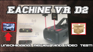 EACHINE VR D2 - Unboxinging, Review and DVR Video Test! (BANGGOOD)