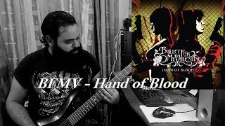bullet for my valentine hand of blood guitar cover solo metal shinobi
