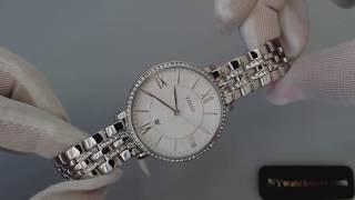 Women's Fossil Jacqueline Crystallized Glitz Watch ES3545