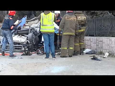 Страшная авария на метро Октябрьская г.Новосибирск 30.05.2013года часть 2 для ПЧГ