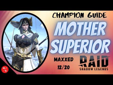 [F2P]   Mother Superior Raid Shadow Legends Champion Guide   6 Star Rare?