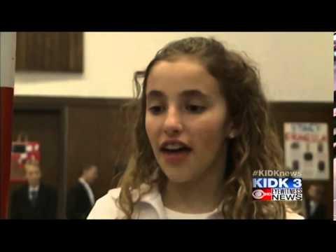 "McCammon elementary students create ""wax museum"""