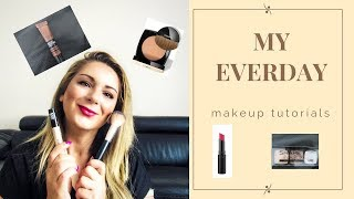 MY EVERYDAY MAKE-UP TUTORIALS