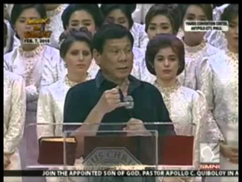 Powerful Message of Duterte why he is running for President