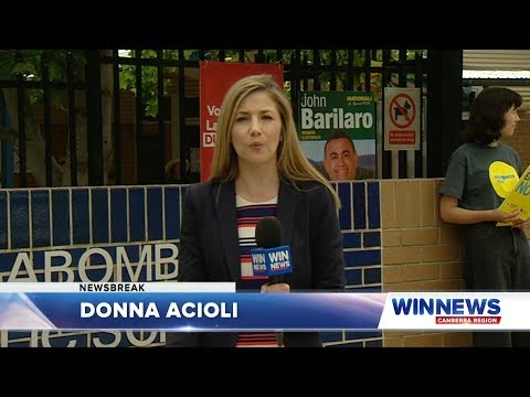 WIN News Canberra - NSW Election Update #1 (23/3/2019)