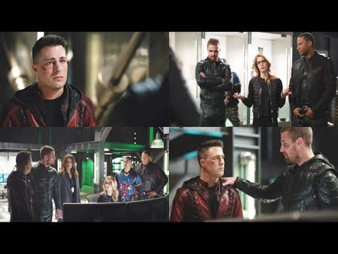 Team Arrow [7x20] Roy Harper And The Hot Tub Time Machine