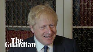 Boris Johnson comments on plans to suspend parliament