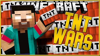 "Minecraft TNT WARS #4 ""HOW TO MAKE A GOD CANNON!"" w/NoahCraftFTW"