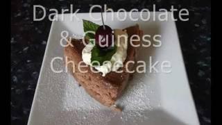 Dark Chocolate & Guinness Cheesecake - Erin Ryan
