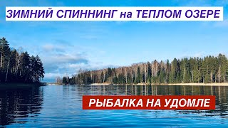 ЗИМНИЙ СПИННИНГ на озере УДОМЛЯ