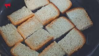 Дальневосточные гренки с хлебом