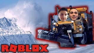 THIS IS HOW THE SNOW IS CLEAN | The ROBLOX