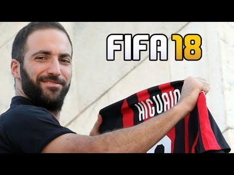 THE AC MILAN PROJECT!! FIFA 18 CAREER MODE