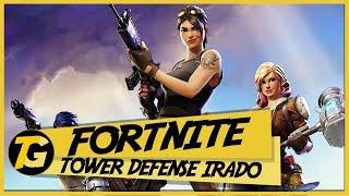 Fortnite - TOWER DEFENSE E CRIAÇÃO DE BASE - Gameplay em Português PT-BR