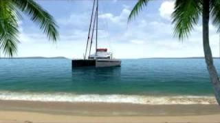 GV SWISS CATAMARAN SC-55 3d Video