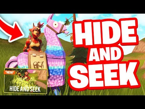 CRAZY GAME OF *HIDE AND SEEK* IN FORTNITE