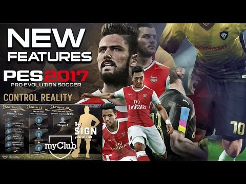 PES 2017 myClub New Features! Versus feature, Option file, ML, Edit Mode, Stadium & more.