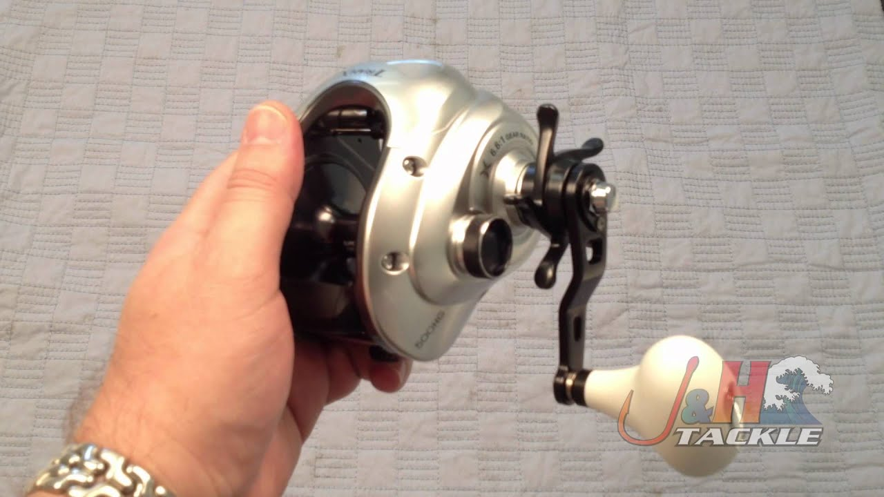 shimano tranx trx500hg low profile saltwater reel - j&h tackle, Fishing Reels