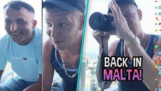 Zurück auf MALTA! 🌴 Frecher Zuschauer + bald wieder GEBANNT?😂 MontanaBlack IRL Stream
