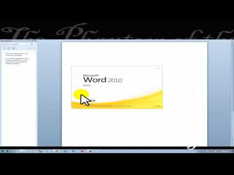 How To Activate Microsoft Office 2010 *Working* *Tested*