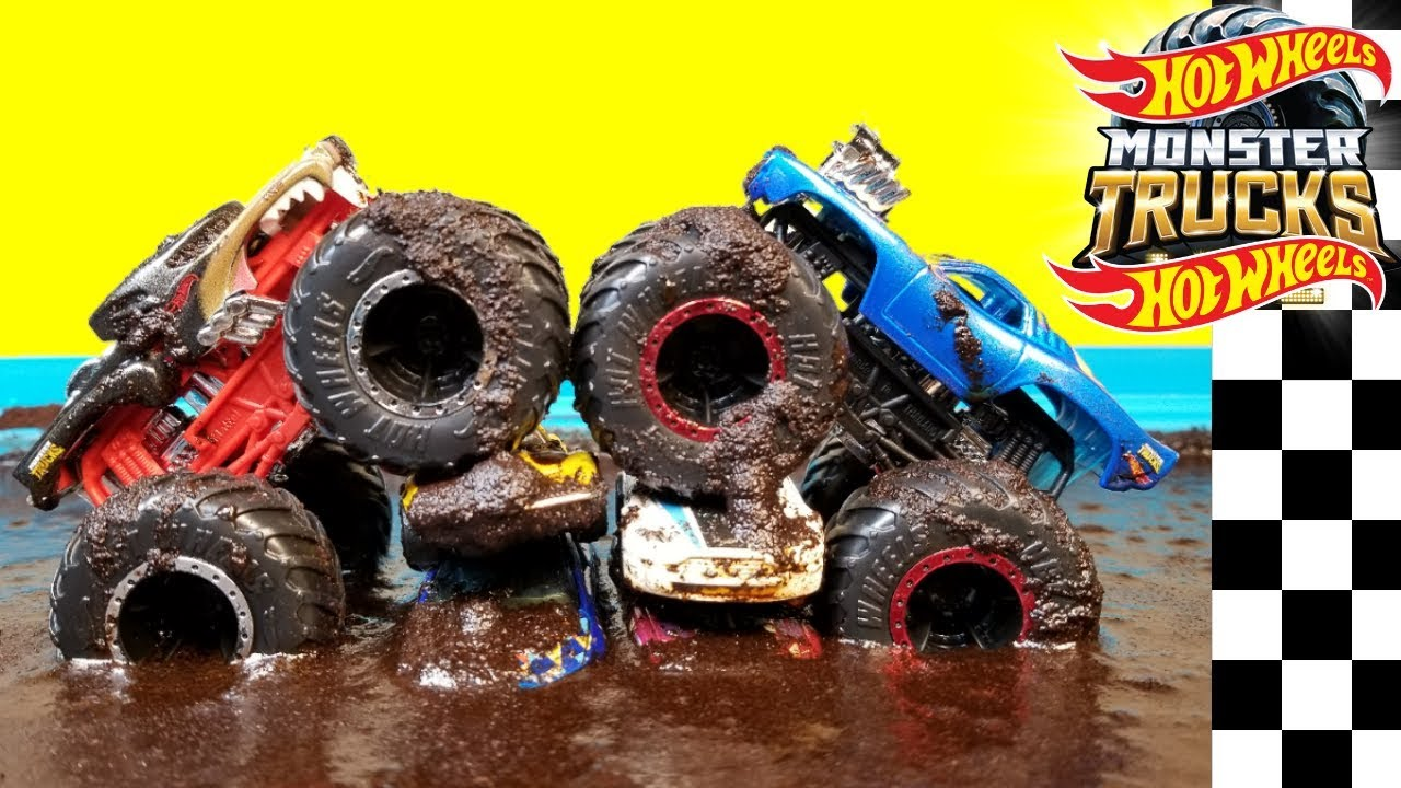 Hot Wheels Monster Trucks Epic Mud Freestyle Championship 2019 Youtube