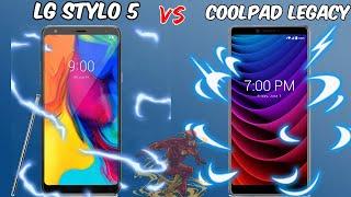 LG Stylo 5 Vs CoolPad Legacy Speed Test// $200 Vs. $100