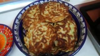 Оладьи из кабачков, рецепт в описании